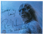 Ross Mullan ' THE WHITE WALKER', Game of Thrones,   10 x 8  genuine signed autograph 10542